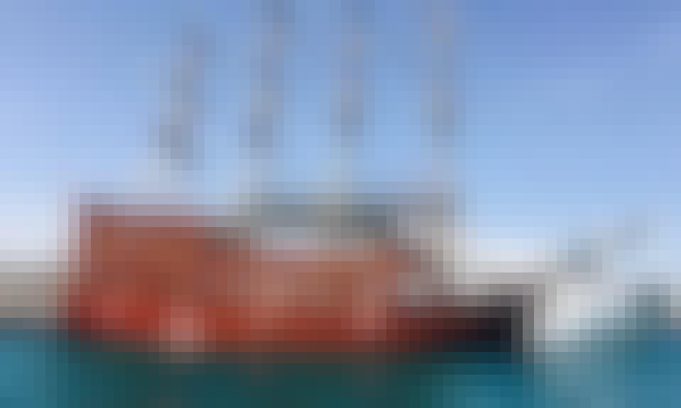 Enjoy Cruising in Antalya Kemer, Turkey on 98' Pirate Ship