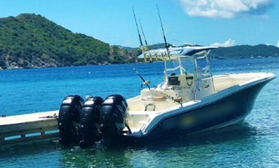 Charter 35' Triton Center Console In Tortola, British Virgin Islands