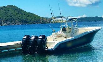 Charter 35' Triton Center Console In Tortola, British Virgin Islands