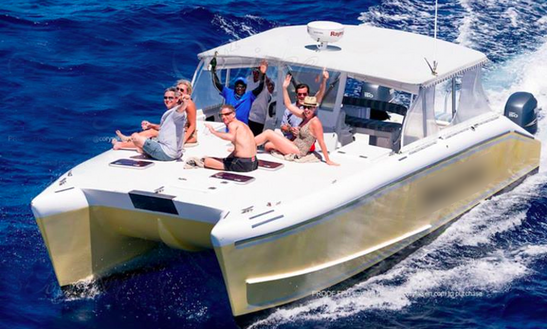 Power Catamaran Cruises In St Kitts-nevis