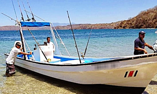 Enjoy Fishing In Playas Del Coco, Costa Rica On Keliy 11 Center Console