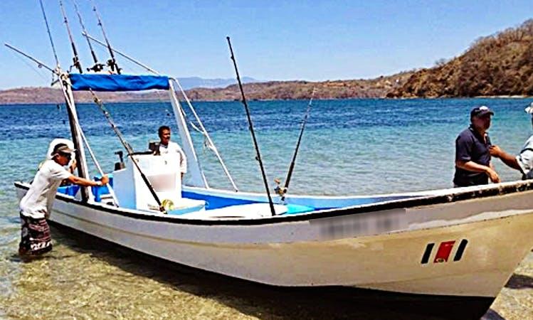 Enjoy Fishing in Playas del Coco, Costa Rica on Keliy 11 Center Console