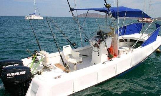 22' Boston Whaler Fishing Charter In Tamarindo, Costa Rica