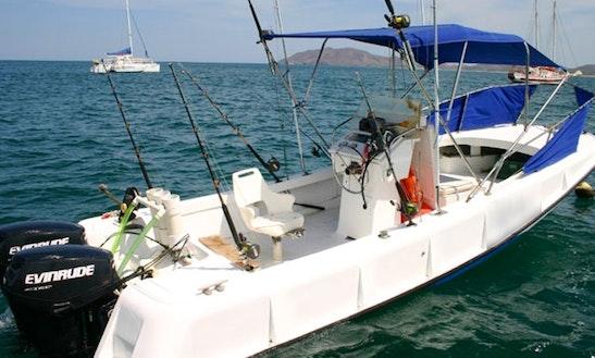 22' Boston Whaler Fishing Charter In Tamarindo, Costa Rica