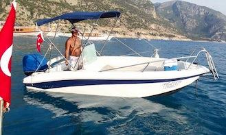 Explore Muğla, Turkey on a Bowrider Boat Charter