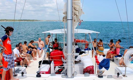 Cruising On A Catamaran In Punta Cana, Dominican Republic (dive And Snorkeling Fun)