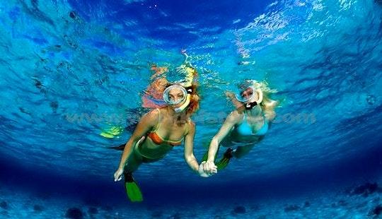Enjoy Snorkeling In Denpasar Barat, Indonesia