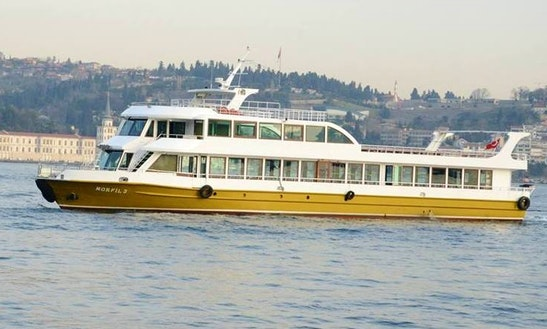 Charter Morfil 3 Passenger Boat In Istanbul, Turkey