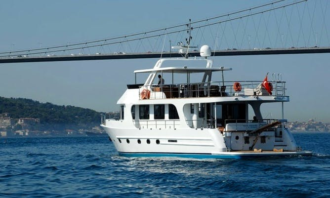 Charter Sabah Wind Power Mega Yacht in Istanbul, Turkey