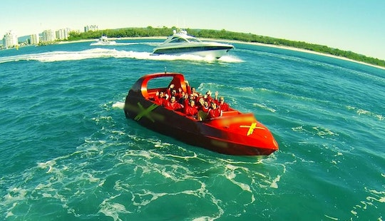 Hire A Jet Boat For 18 People In Surfers Paradise, Australia