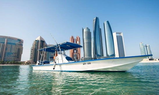 Enjoy Fishing In Abu Dhabi, United Arab Emirates With Captain Naman