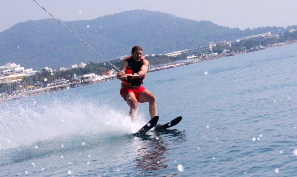 Enjoy Water Skiing in Antalya, Turkey