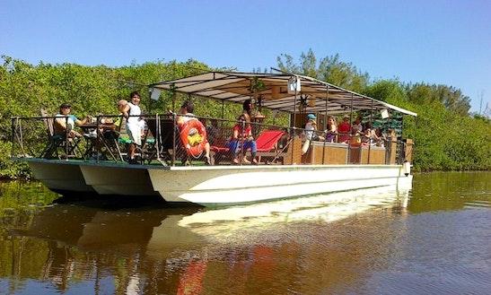 50 Passengers Pontoon Boat