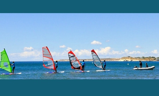 Windsurfing In Puerto Madryn, Argentina