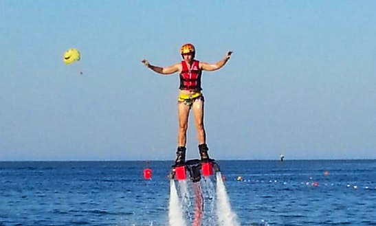 Extreme Flyboarding Experience In Antalya, Turkey