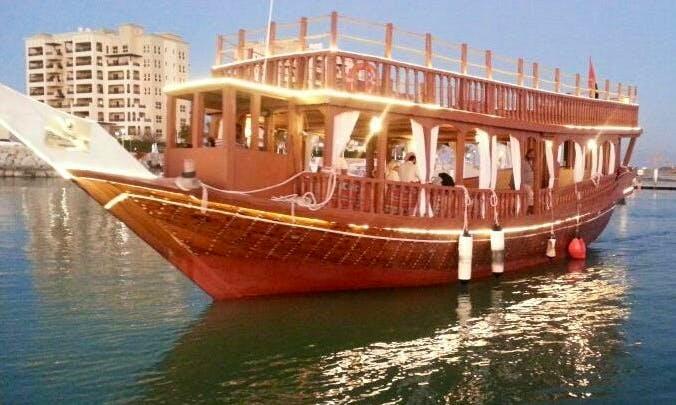 Enjoy Dinner Cruise in Ras Al-Khaimah, United Arab Emirates