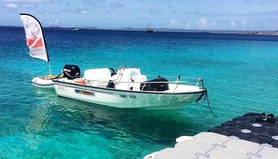 Deck Boat Air-hose-snorkeling Tours In Kralendijk, Caribbean Netherlands