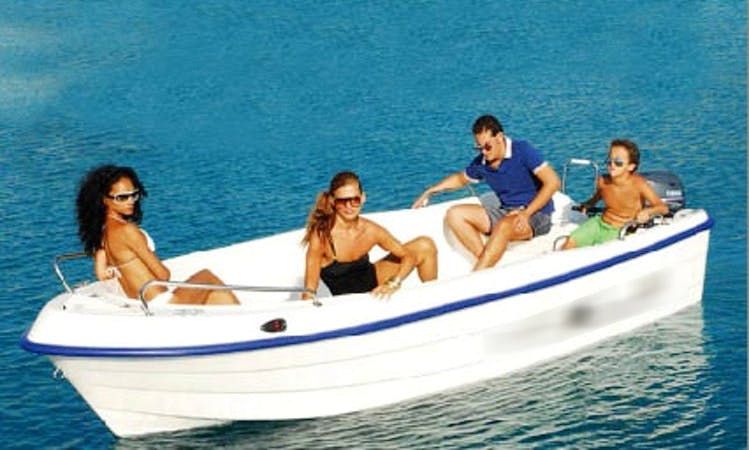Rent this Ranieri 450 Motor Boat in Santanyí