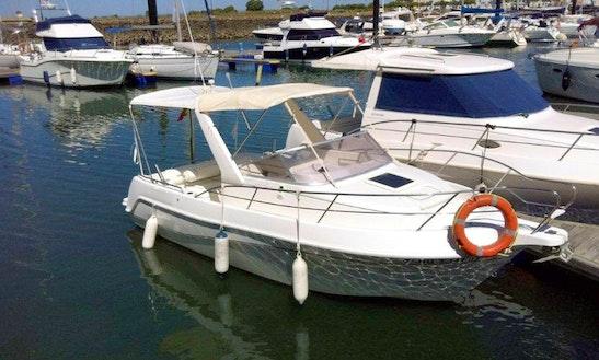 Faeton 630 Sport Motor Boat Charter In Ayamonte