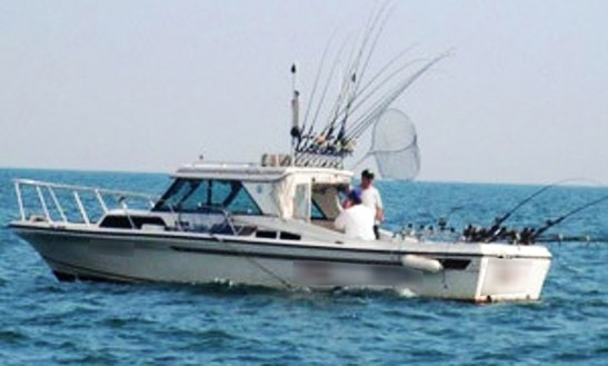 27′ Sportcraft Boat Fishing Charters In Haldimand