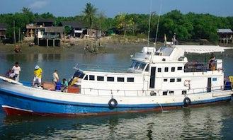 """Enjoy """"Polaris Five"""" Fishing Trips Charter in Phuket Chang Wat, Phuket"""