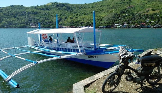 Daily Tours On A Traditional Paraw Boat In Bais City, Philippines