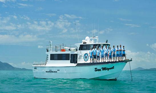 Enjoy Fishing In Cairns City, Australia On 60' San Miguel Trawler