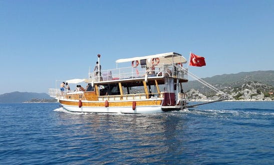 Enjoy Boat Tours In Antalya, Turkey
