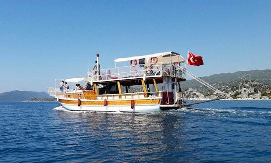 Enjoy Boat Tours In Antalya, Turkey