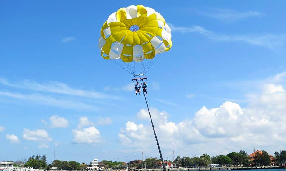 Single, Tandem or Private Parasailing Adventure