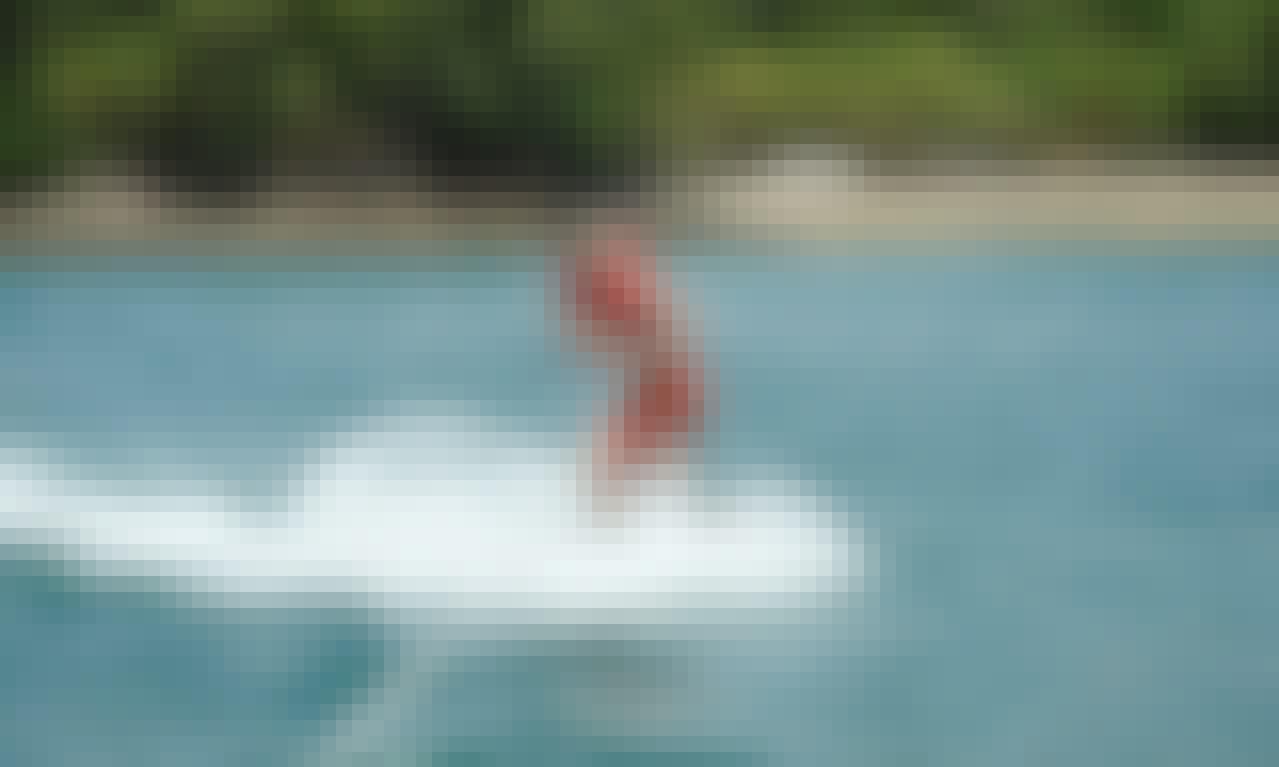 Enjoy Water Skiing in Denpasar Selatan, Bali