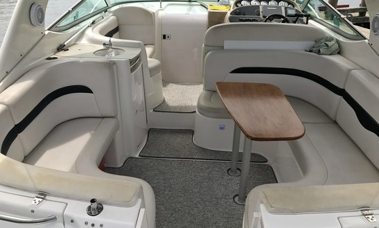 35' Cruiser With All The Creature Comforts
