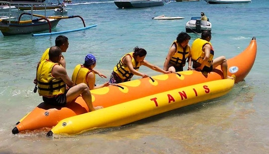 Awesome Banana Boat Ride Experience In Bali, Indonesia