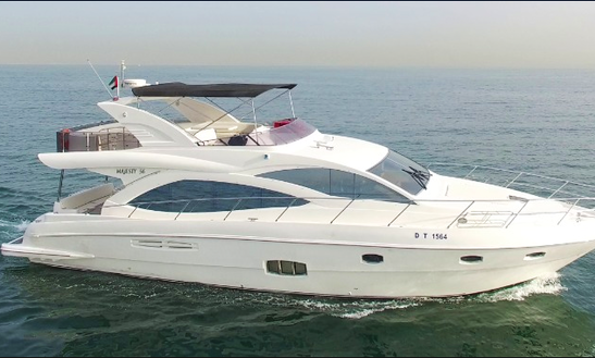 Charter 56' The Majesty Royal Power Mega Yacht In Dubai, United Arab Emirates