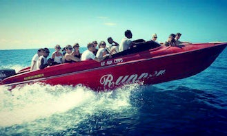 Once in a Life Time Jet Boat Experience in Grand River South East, Mauritius