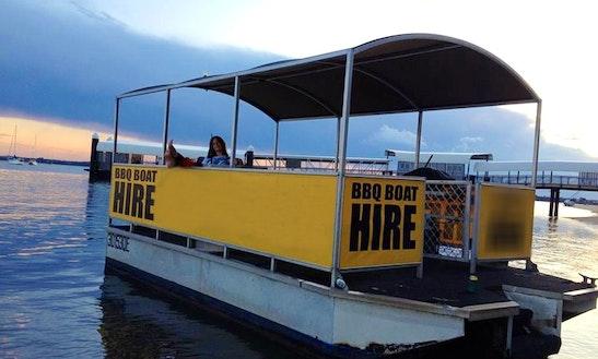Bbq Pontoon Boat Hire In Coochiemudlo Island