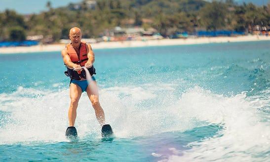 15 Minutes Water Skiing In Ko Samui, Thailand