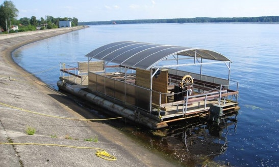 Rent A Pontoon In Ikšķile, Latvia