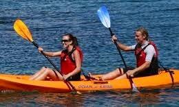 Tandem Kayak in San Pedro, California