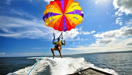 Adventure Parasailing In Denpasar Selatan, Bali
