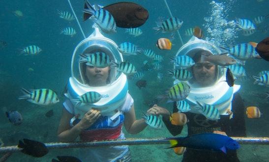Enjoy Sea Walking In Denpasar Selatan, Bali