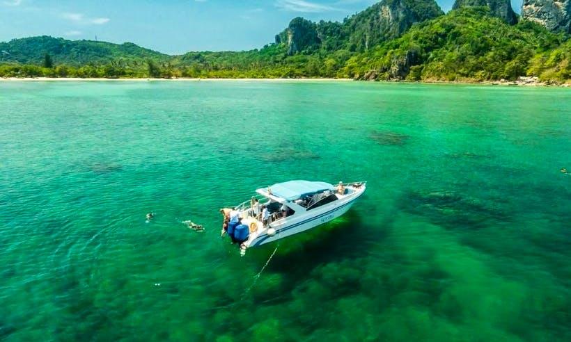 Charter 36ft 'Offspray 1' Motor Yacht In Tambon Chalong, Thailand