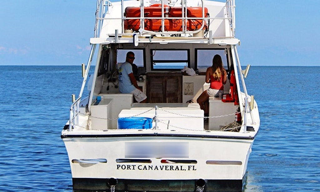 38 39 sports fisherman charter in cape canaveral florida for Cape canaveral fishing charters