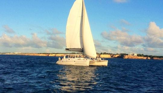 Cruising Catamaran Rental In Simpson Bay