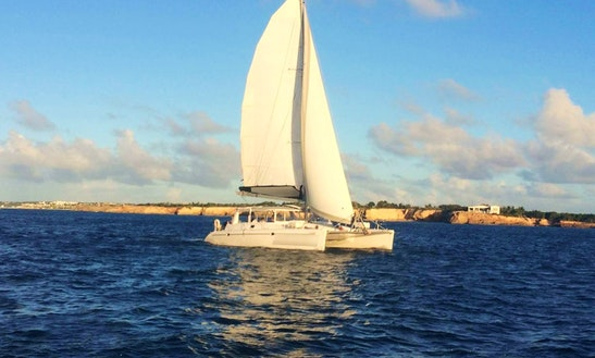 Cruising Catamaran Rental In Simpson Bay