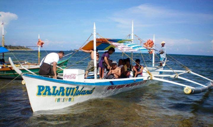 10-Person Pontoon Charter in Santa Ana, Philippines