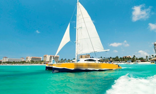 Enjoy Oranjestad, Aruba On Cruising Catamaran