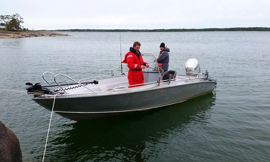 Enjoy Fishing In Åland Islands On Center Console
