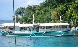 Charter a Traditional Boat in Davao City, Philippines