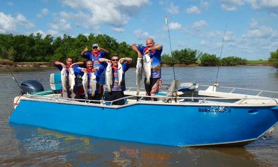 Barra Fishing Trip In Malak